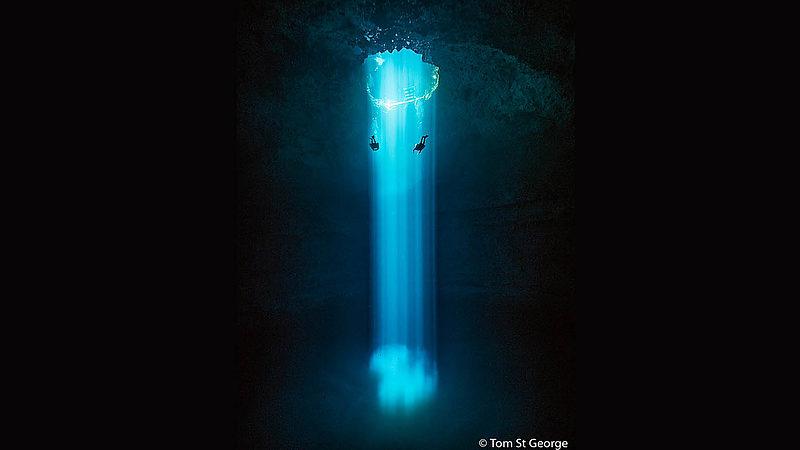 Cenote Cavern Diving in Playa del Carmen